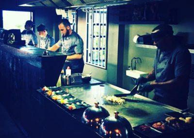 Making sushi in Zen time...