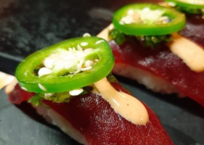 Tuna with HOT pepper...